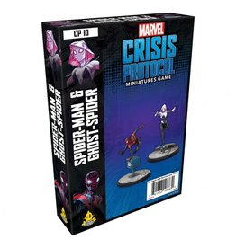 Asmodee Marvel Crisis Protocol: Spider-Man & Ghost-Spider Pack