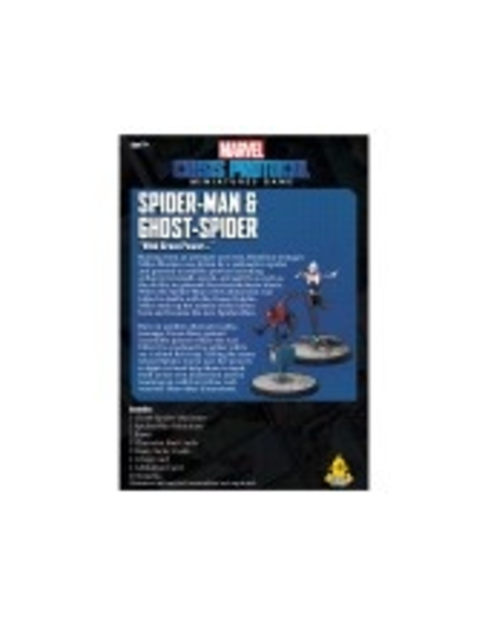 Atomic Mass Games Marvel: Crisis Protocol - Spider-Man & Ghost-Spider Pack