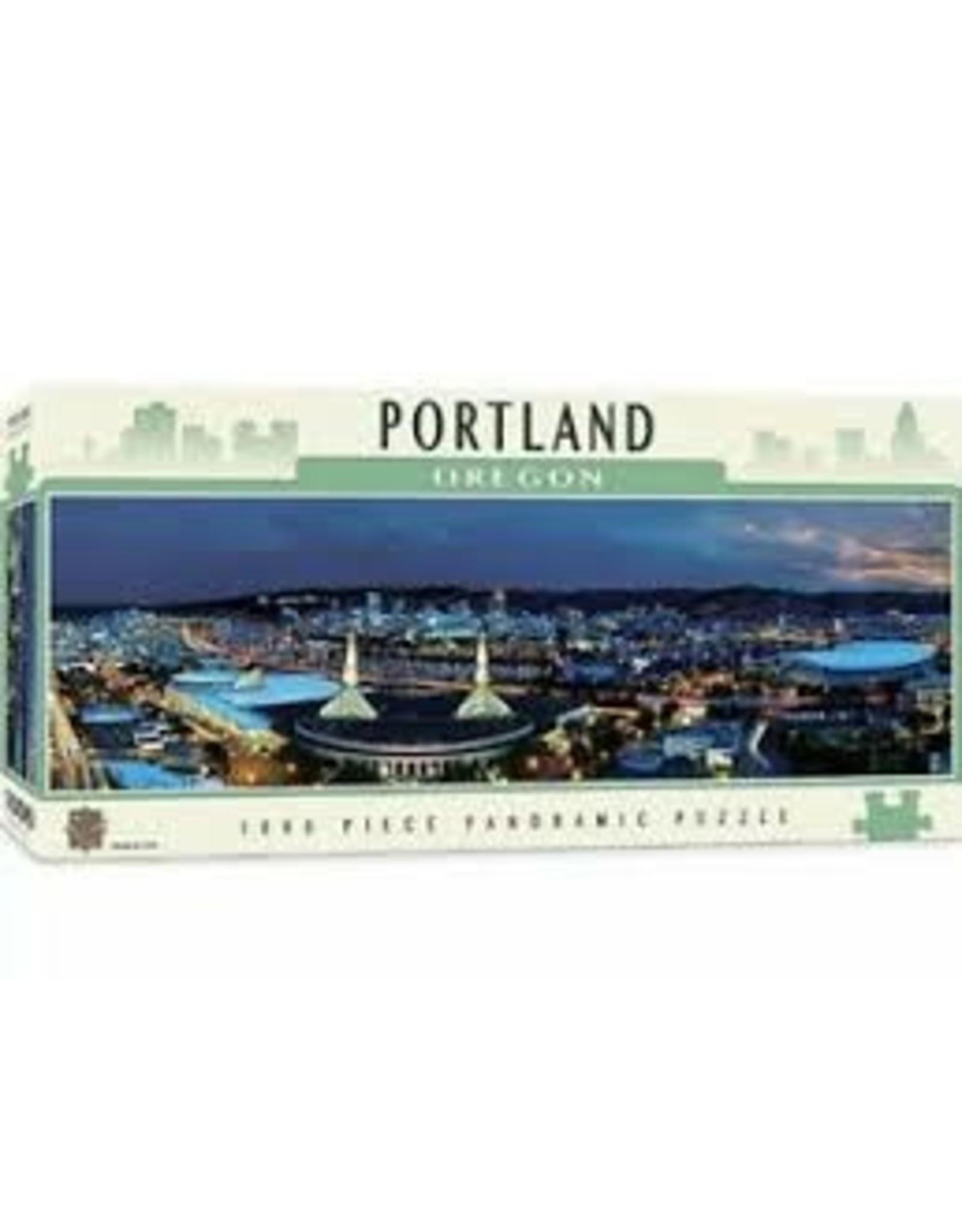 MasterPieces American Vistas - Portland 1000pc Panoramic Puzzle