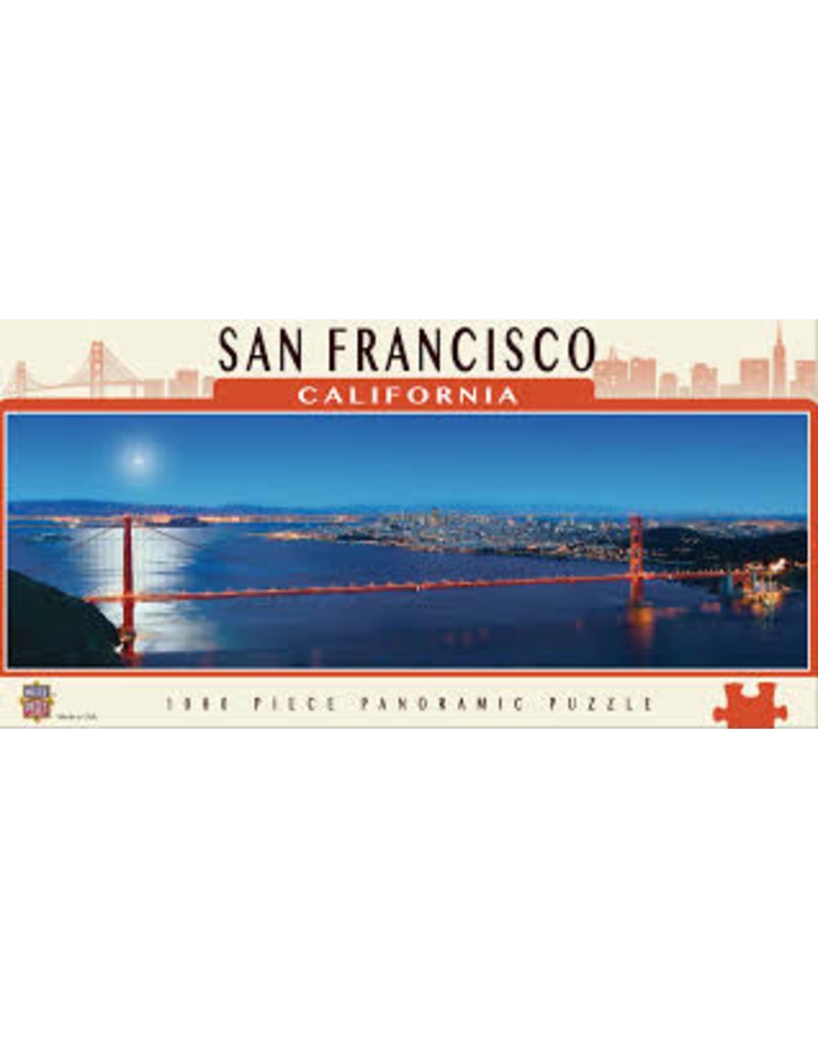 MasterPieces American Vistas - San Francisco 1000pc Panoramic Puzzle