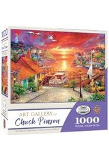 MasterPieces Chuck Pinson Art Gallery - New Horizons 1000pc Puzzle