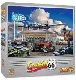 MasterPieces Cruisin' Rt66 - Bomber Command Café 1000pc Puzzle