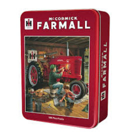 MasterPieces Farmall Case IH - Forever Red 1000pc Puzzle in a Tin
