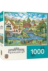 MasterPieces Hometown Gallery - Millside Picnic 1000pc Puzzle