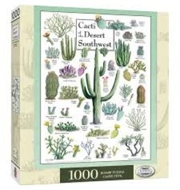 MasterPieces Poster Art - Cacti of the Desert Southwest 1000pc Puzzle