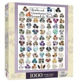 MasterPieces Poster Art - Gemstones 1000pc Puzzle