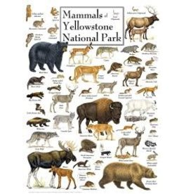 MasterPieces Poster Art - Mammals of Yellowstone National Park 1000pc Puzzle