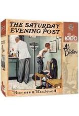 MasterPieces Saturday Evening Post Norman Rockwell - At the Doctor's 1000pc Puzzle