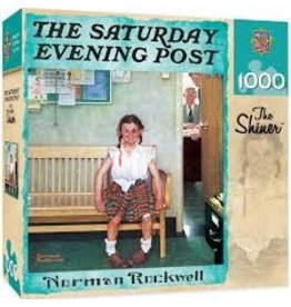 MasterPieces Saturday Evening Post Norman Rockwell - The Shiner 1000pc Puzzle