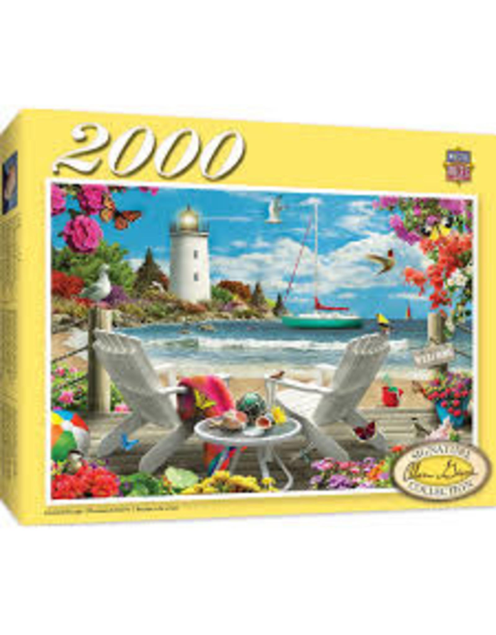 MasterPieces Signature - Coastal Escape 2000pc Puzzle