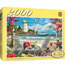 MasterPieces Signature - Coastal Escape 2000pc Puzzle
