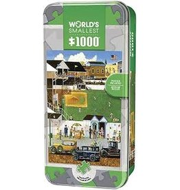 MasterPieces World's Smallest - Before the Big Game 1000pc Puzzle in a Tin