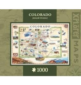 MasterPieces Xplorer Maps - Colorado 1000pc Puzzle