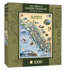 MasterPieces Xplorer Maps - Inside Passage 1000pc Puzzle