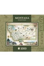 MasterPieces Xplorer Maps - Montana 1000pc Puzzle