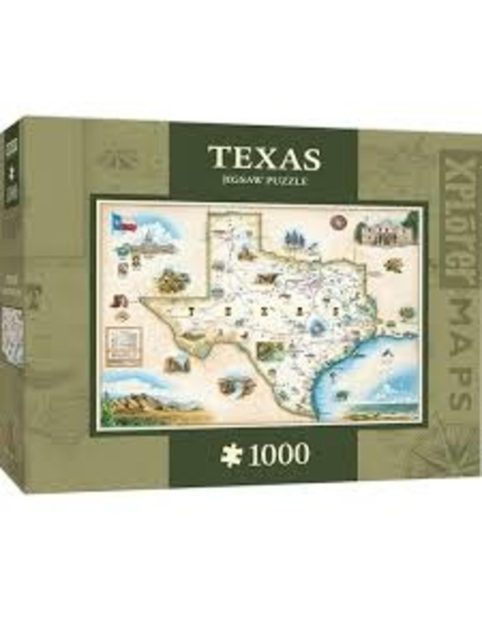 MasterPieces Xplorer Maps - Texas 1000pc Puzzle