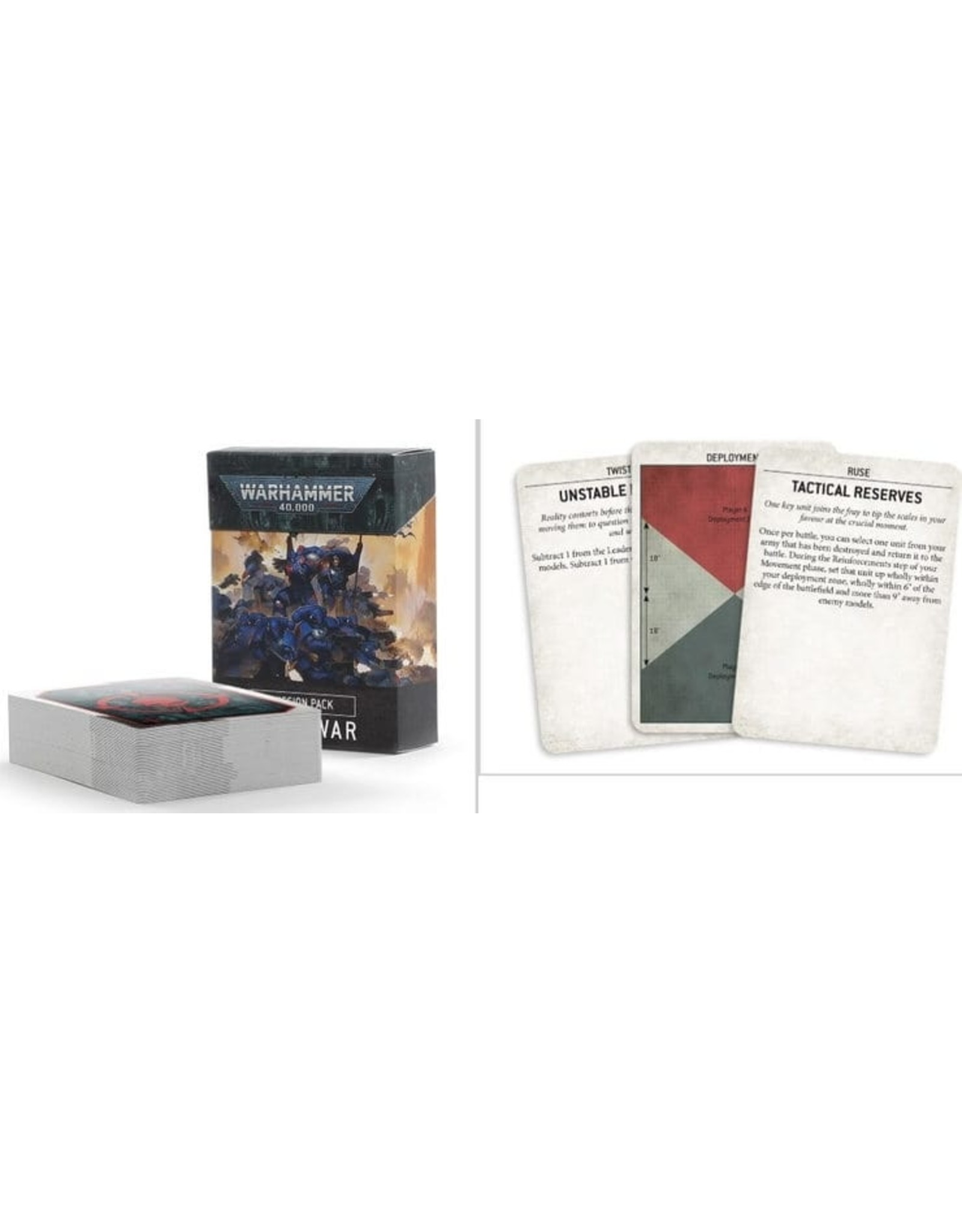 Warhammer 40K WH40K: Mission Pack: Open War