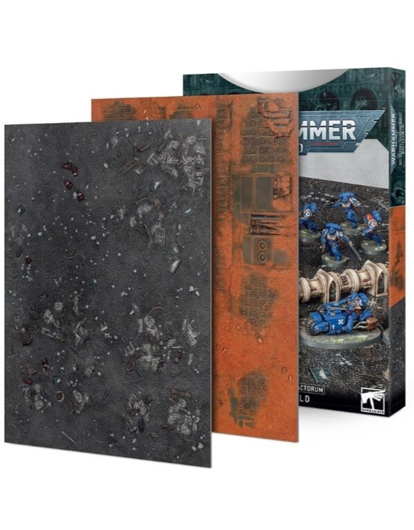 Warhammer 40K 40K: Battlezone Manufactorum Battlefield