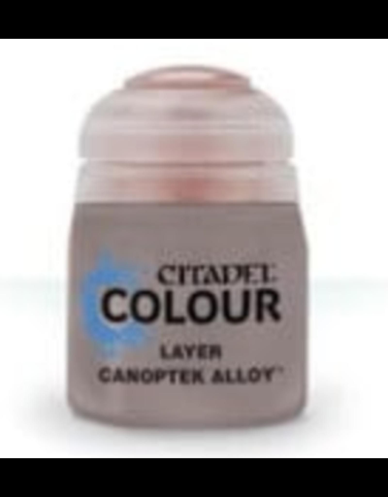 Citadel Citadel Paints: Layer: Canoptek Alloy (12Ml)