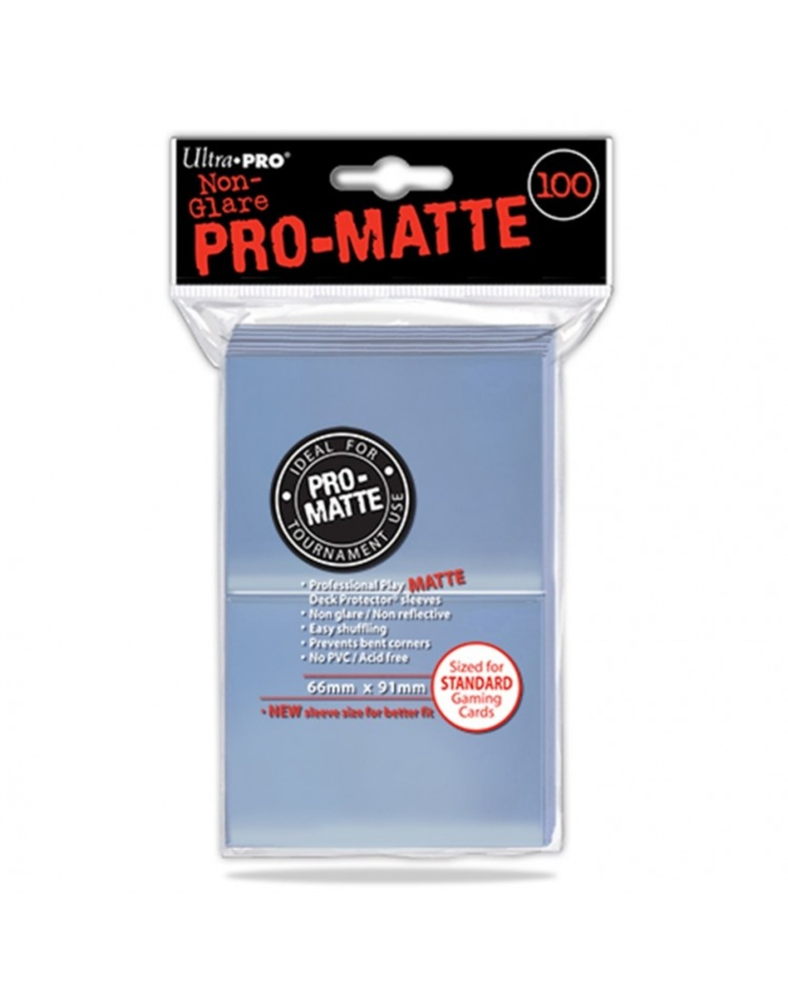 Ultra Pro Deck Protector: PRO Matte Clear (100)