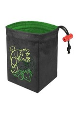Red King Fantasticute Dragons Embroidered Dice Bag