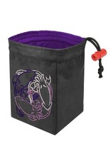 Red King Fantasticute Cthulhus Embroidered Dice Bag
