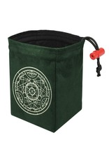 Red King Alchemy Medallion - Glow in the Dark Dice Bag