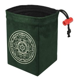 Red King Alchemy Medallion - Glow in the Dark Dice Bag