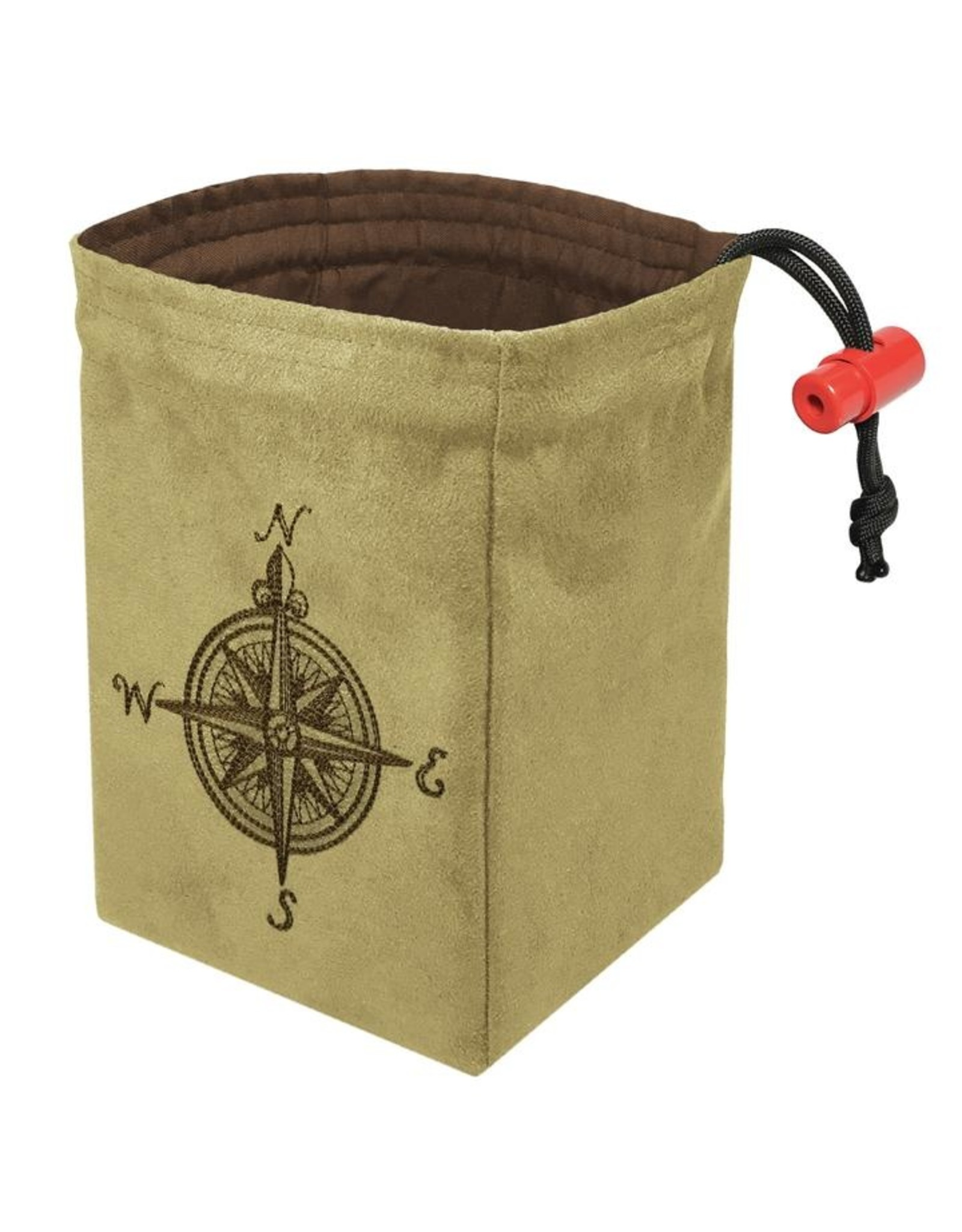 Red King Dice Bag - Compass Rose