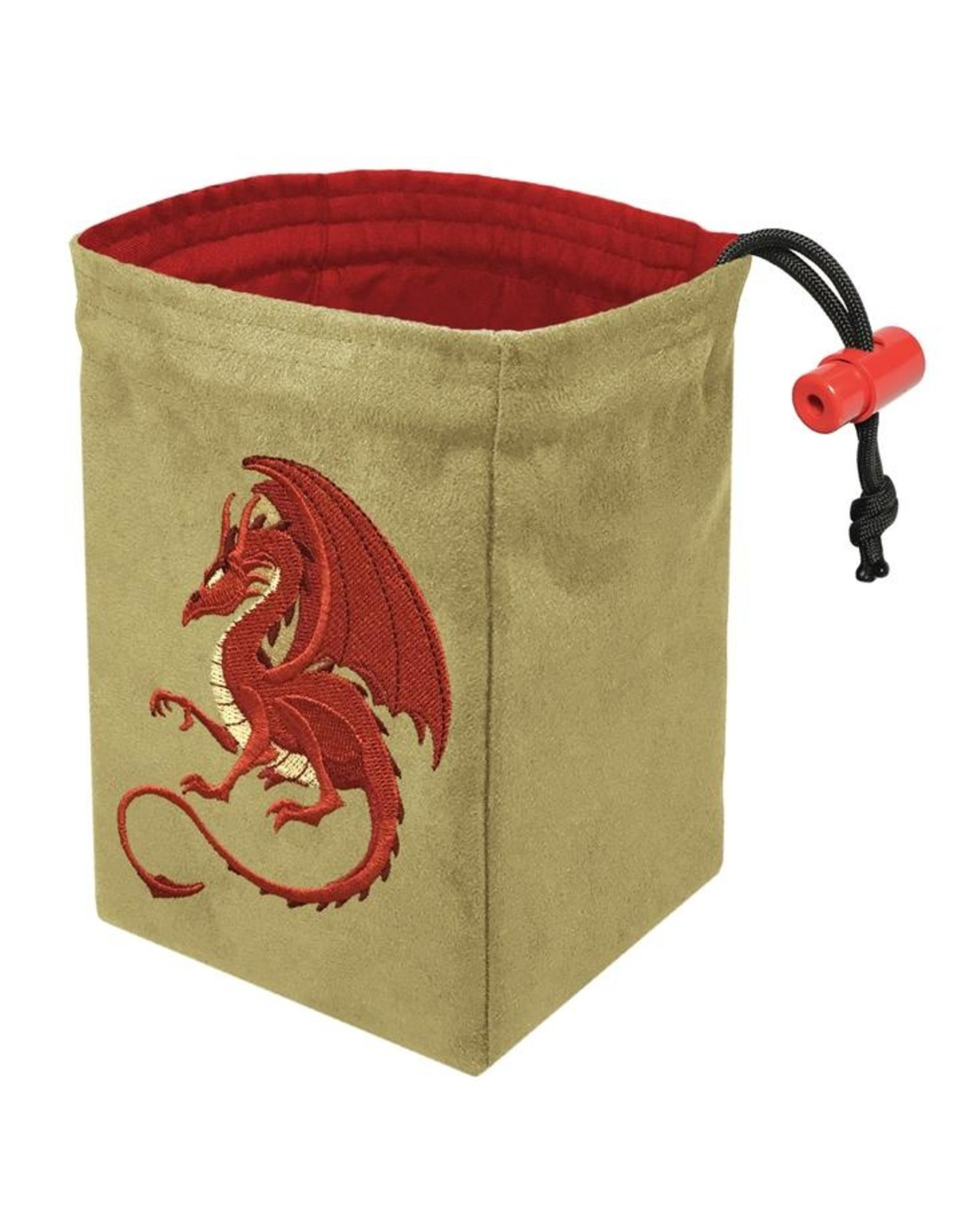 Red King Dice Bag - Red Dragon
