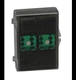 "Koplow 3/4"" 19mm CASINO TR Green"