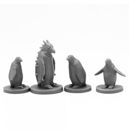 Reaper Bones Black: Penguin Attack Pack (4)