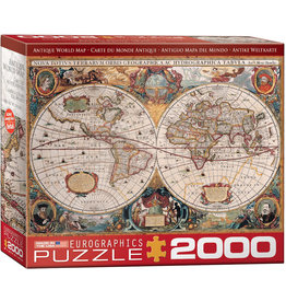 Eurographics Orbis Geographica World Map (2000 piece)
