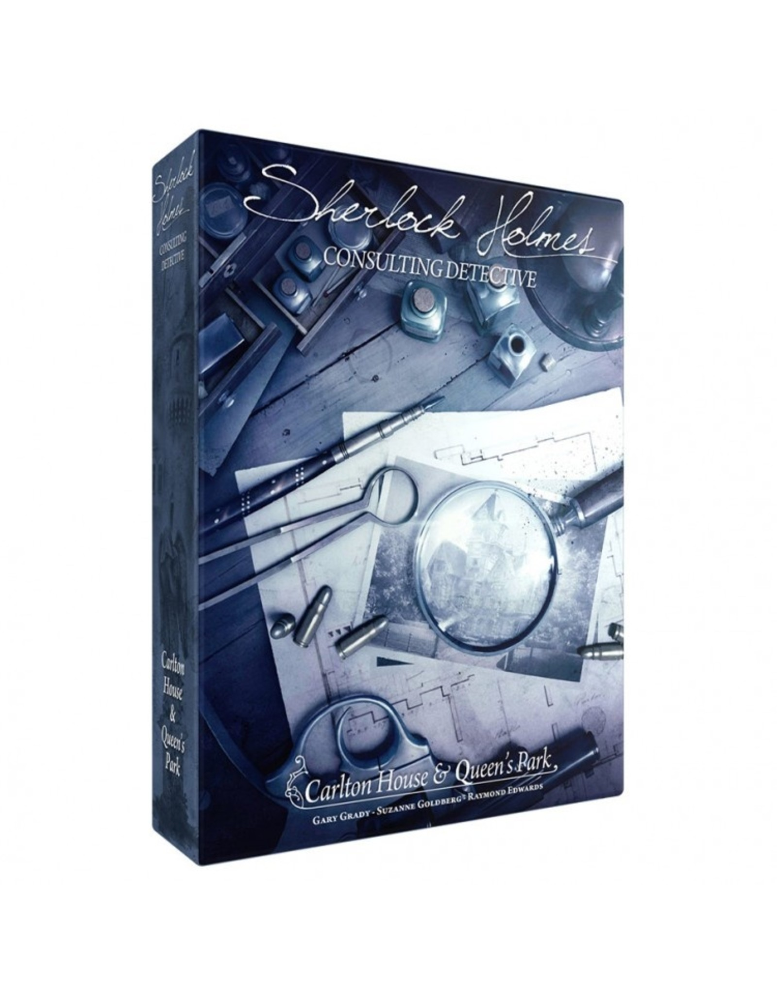 Asmodee Sherlock Holmes: Consulting Detective - Carlton House and Queen's Park