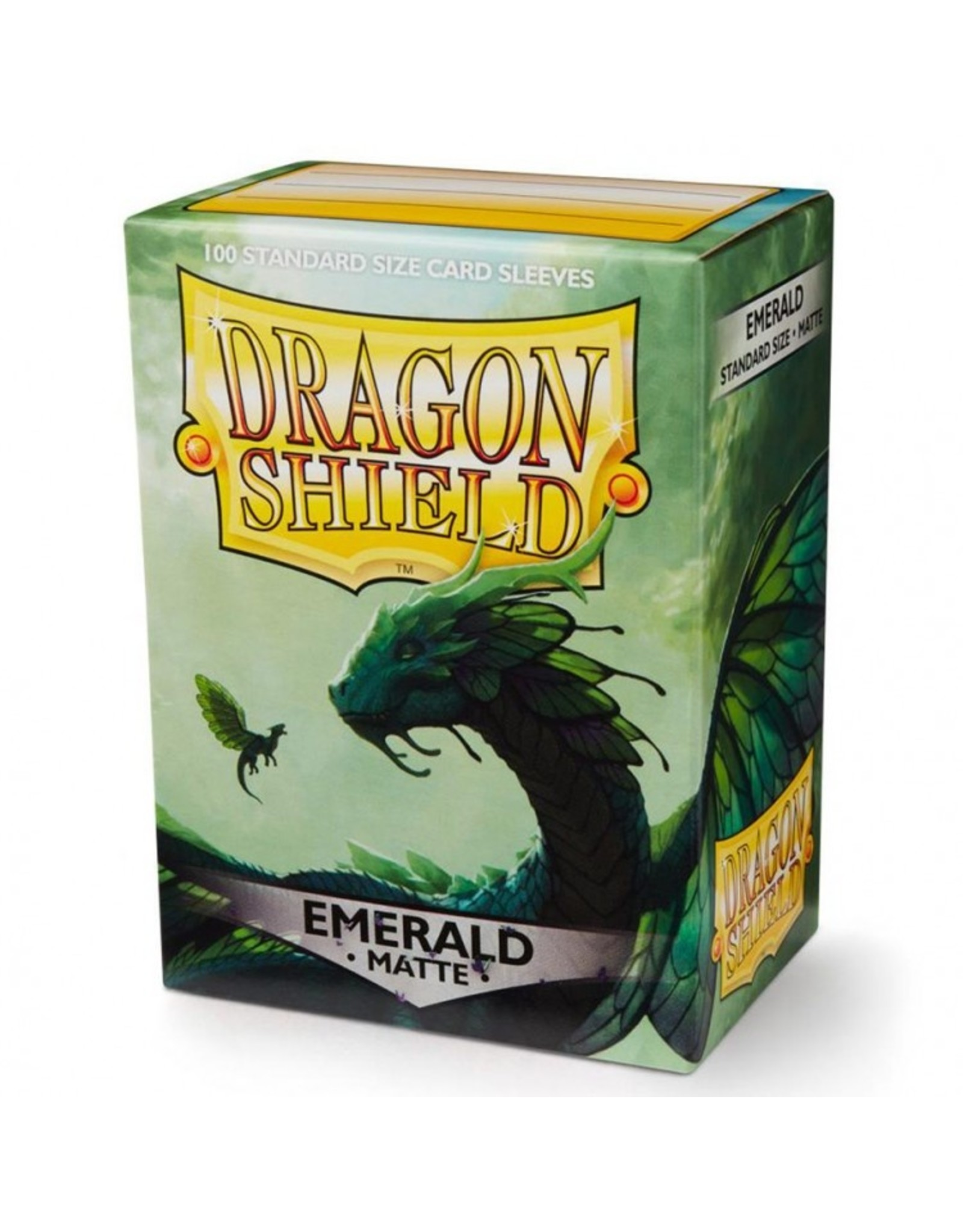 Dragon Shield: (100) Matte Emerald