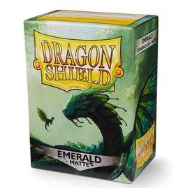 Dragon Shield: (100) Matte Emerald