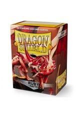 Dragon Shield: (100) Matte Ruby
