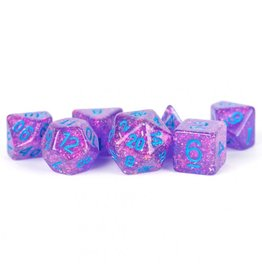 Metallic Dice Games 7-Set: Flash PUbu