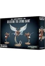 Warhammer 40K Adepta Sororitas: Celestine the Living Saint