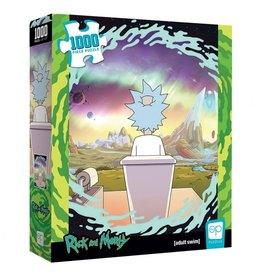 USAopoly Puzzle: Rick and Morty Shy Pooper1000 pc