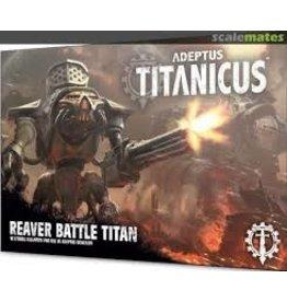 Warhammer 40K Adeptus Titanicus: Reaver Battle Titan
