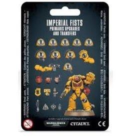 Warhammer 40K Imperial Fists Primaris Upgrades