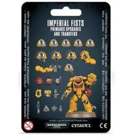 Warhammer 40K Space Marine Imperial Fists Primaris Upgrades