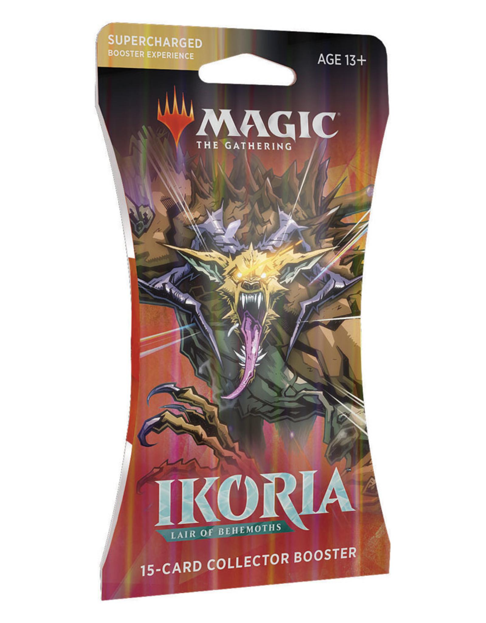 Magic MTG: Ikoria - Lair of Behemoths Collector Booster Pack