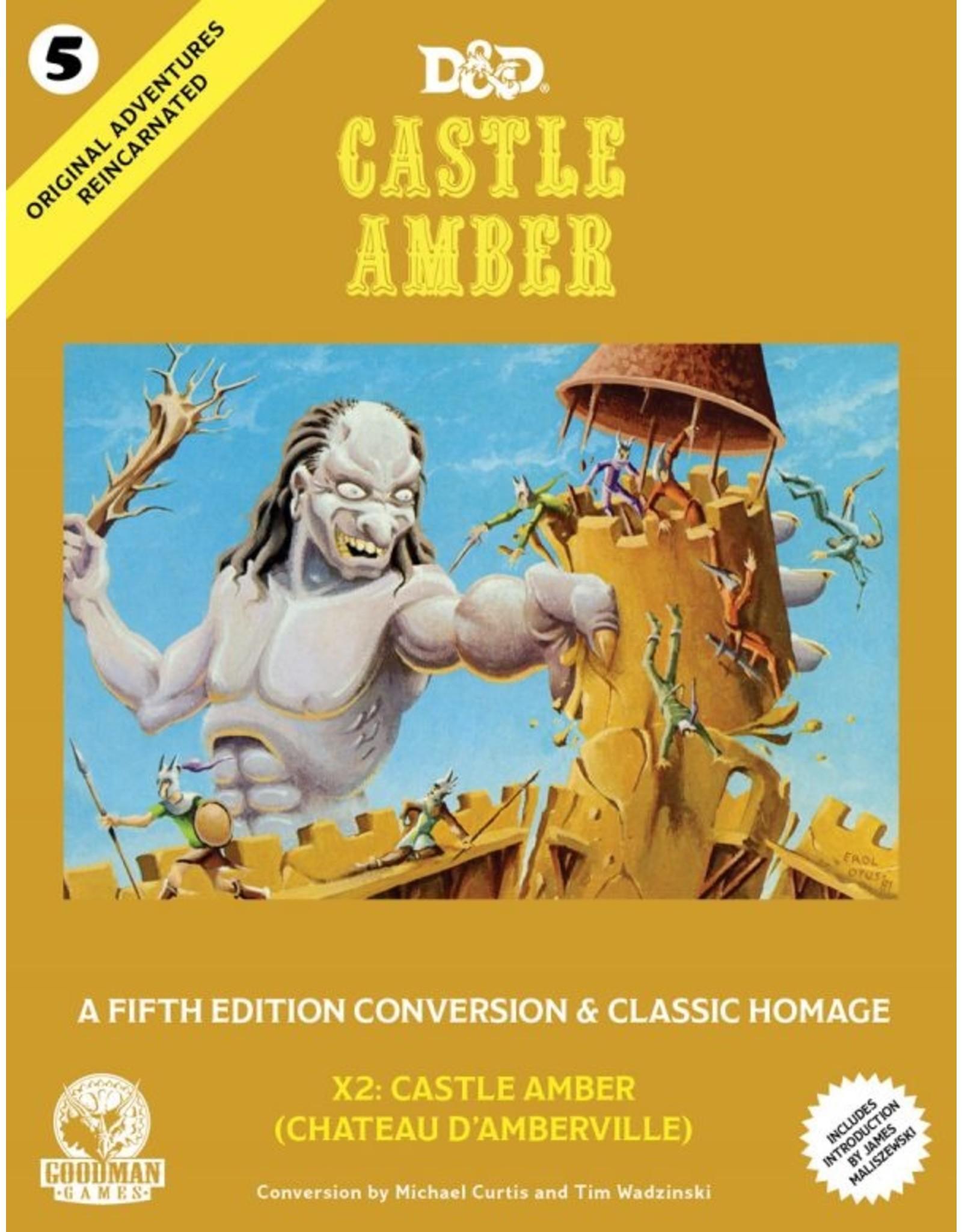 Goodman Games 5E: Original Adventures Reincarnated #5: Castle Amber