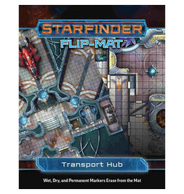 Paizo Publishing Starfinder: Flip-Mat: Transport Hub