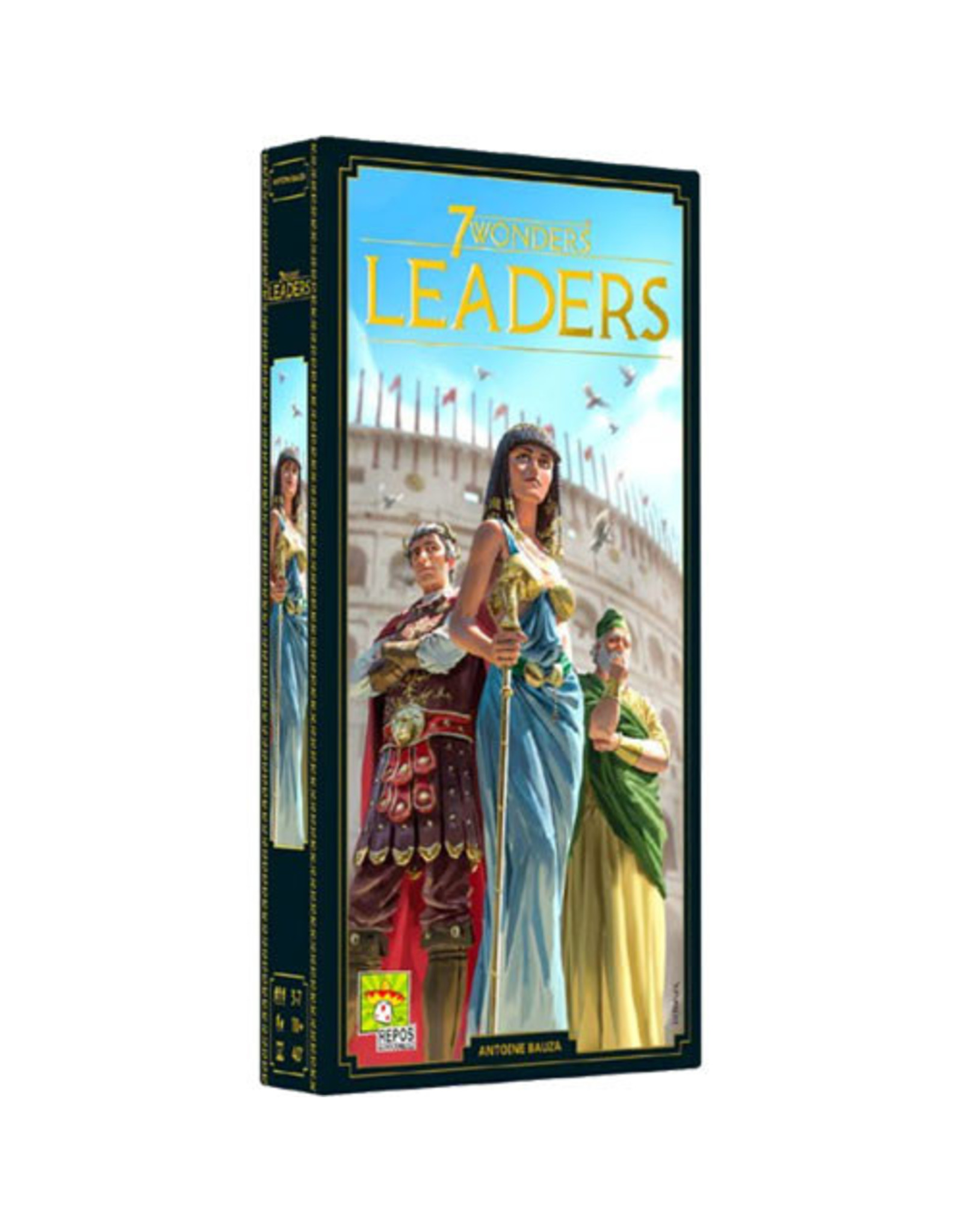 Asmodee 7 Wonders New Edition: Leaders Expansion