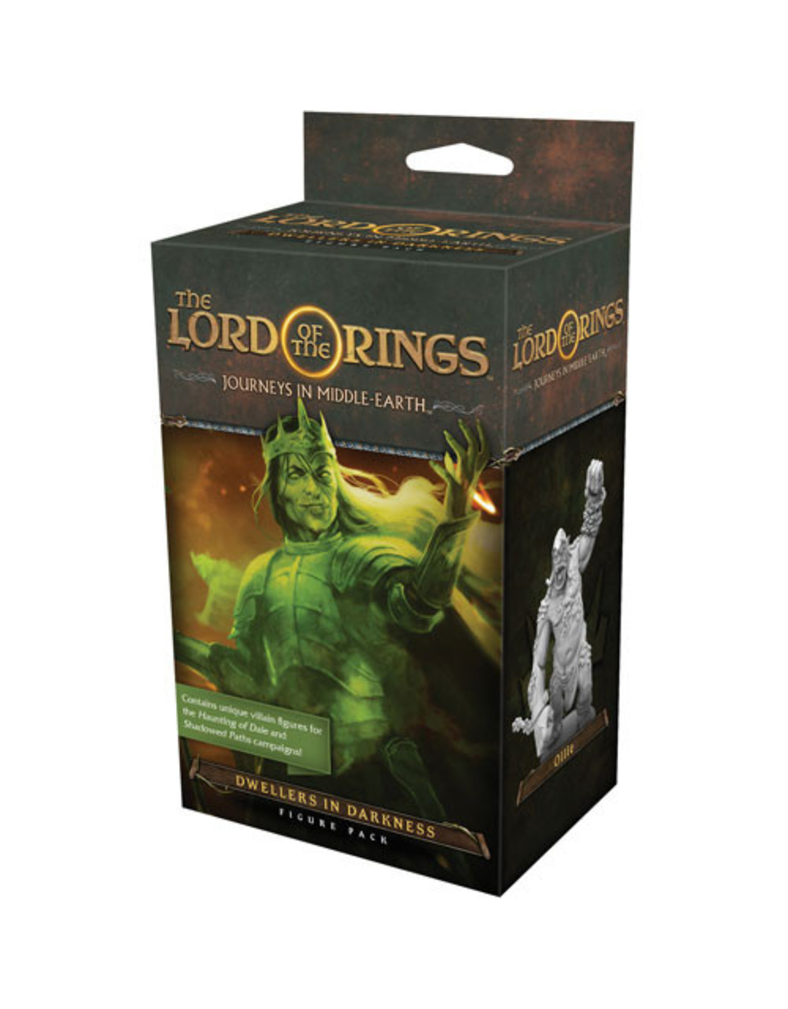 Fantasy Flight Games Lord of the Rings: Journeys in Middle-Earth: Dwellers in Darkness Figure Pack