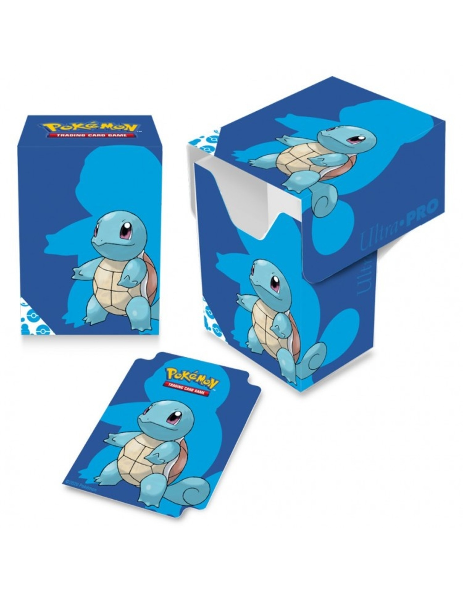 Ultra Pro Deck Box: PKM: Squirtle Full View