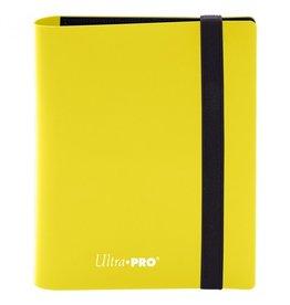 Ultra Pro Binder: 4pkt: PRO: Eclipse: Lemon YE